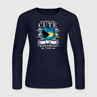 Bahamian Girls Design - Women's Long Sleeve Jersey T-Shirt