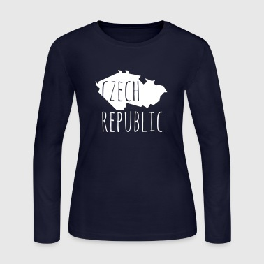 Czech Republic - Women's Long Sleeve Jersey T-Shirt