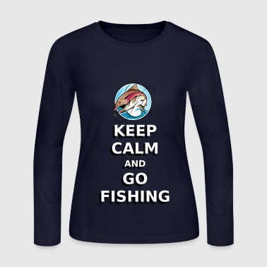 GO FISHING - Women's Long Sleeve Jersey T-Shirt