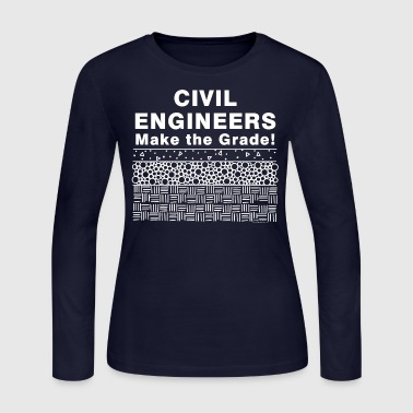Make The Grade - Women's Long Sleeve Jersey T-Shirt