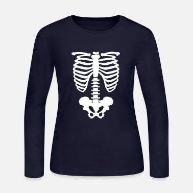Bone bones - Women's Long Sleeve Jersey T-Shirt