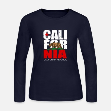 California California Republic - Women's Long Sleeve Jersey T-Shirt