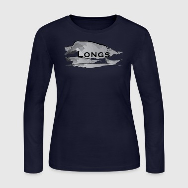 Longs Peak Womens Long Sleeve - Women's Long Sleeve Jersey T-Shirt