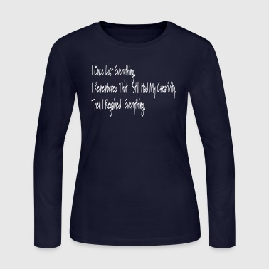 My Motto - Women's Long Sleeve Jersey T-Shirt