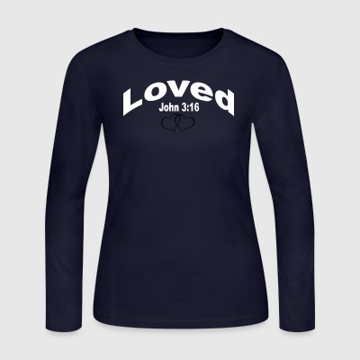 loved - Women's Long Sleeve Jersey T-Shirt
