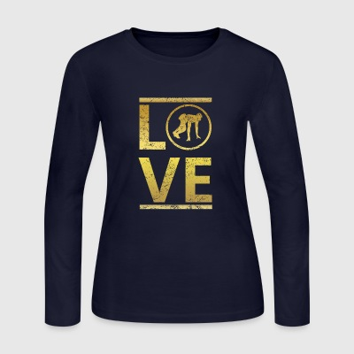 love calling profi king meister running rennen mar - Women's Long Sleeve Jersey T-Shirt