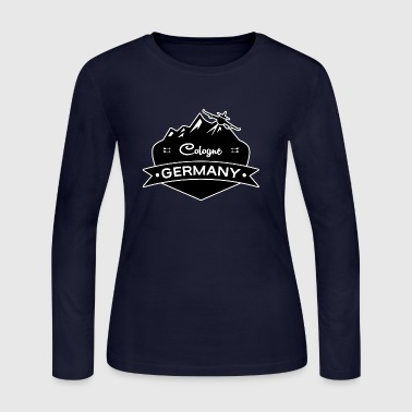 Cologne Germany - Women's Long Sleeve Jersey T-Shirt