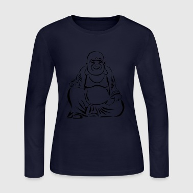 buddha - Women's Long Sleeve Jersey T-Shirt