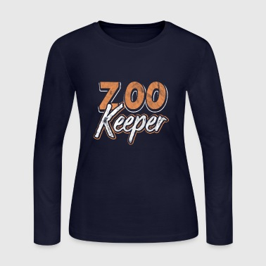 Shirt for Zookeeper as a gift - Women's Long Sleeve Jersey T-Shirt