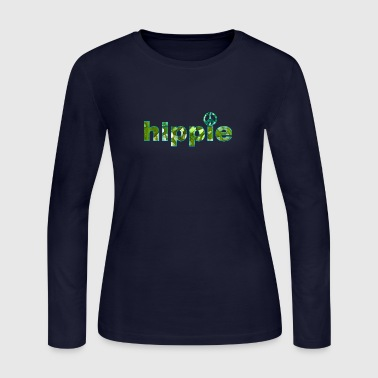 hippie - Women's Long Sleeve Jersey T-Shirt