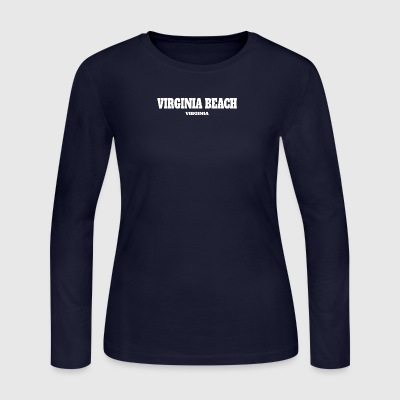 VIRGINIA VIRGINIA BEACH US EDITION - Women's Long Sleeve Jersey T-Shirt