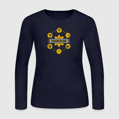 Civil Engineering Shirt - Women's Long Sleeve Jersey T-Shirt