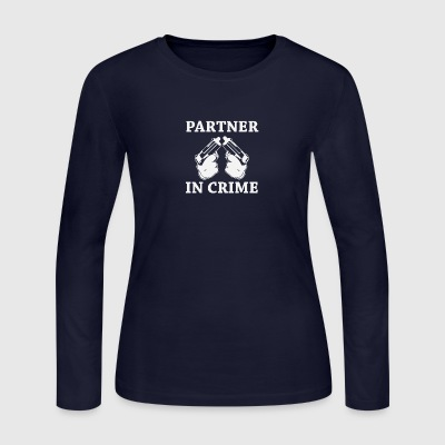 Partner in Crime - Women's Long Sleeve Jersey T-Shirt
