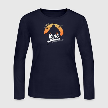 Visit Kong Island - Women's Long Sleeve Jersey T-Shirt