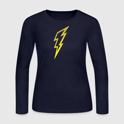 bolt - Women's Long Sleeve Jersey T-Shirt