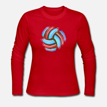Beach Volleyball Volleyball Beach - Women's Jersey Longsleeve Shirt