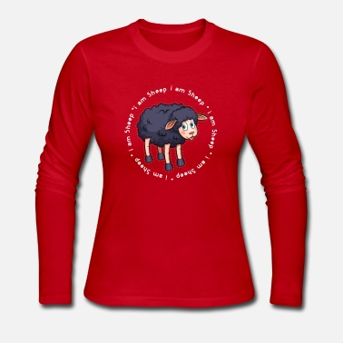 Black Sheep Sheep Black Sheep gift - Women's Long Sleeve Jersey T-Shirt