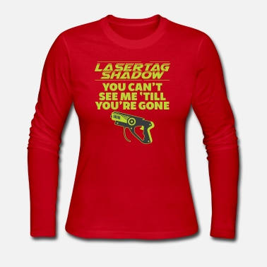 Tag Laser Tag shadow - Women's Jersey Longsleeve Shirt
