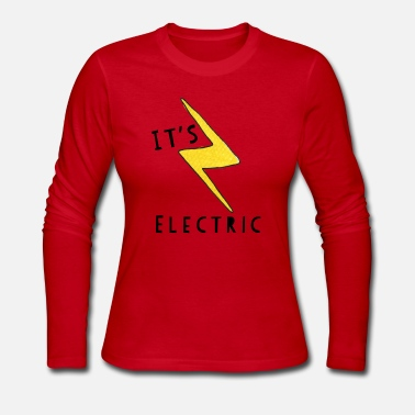 Electricity It's Electric - Women's Long Sleeve Jersey T-Shirt
