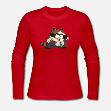 South The Coon - South Park - Women's Long Sleeve Jersey T-Shirt