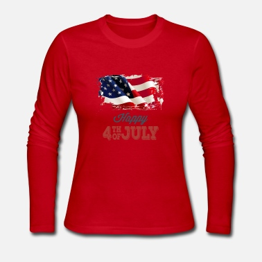 usa Independence Day - Women's Long Sleeve Jersey T-Shirt