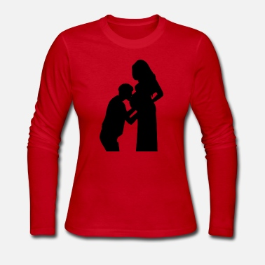 Pregnant pregnant - Women's Long Sleeve Jersey T-Shirt