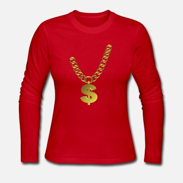 Jewelry Chain Jewelry - Women's Long Sleeve Jersey T-Shirt