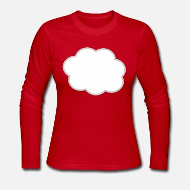 Cloud Cloud - Women's Long Sleeve Jersey T-Shirt