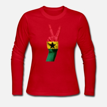 Ghana ghana - Women's Long Sleeve Jersey T-Shirt