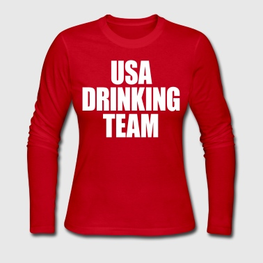 USA Drinking Team - Women's Long Sleeve Jersey T-Shirt