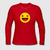 Haha funny emoticon Facebook - Women's Long Sleeve Jersey T-Shirt