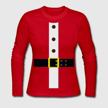 Santa Claus Santa's Coat - Women's Long Sleeve Jersey T-Shirt