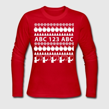 Ugly Christmas Sweater - Women's Long Sleeve Jersey T-Shirt