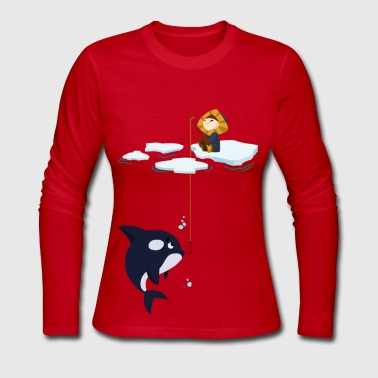 Rain - Women's Long Sleeve Jersey T-Shirt