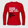 Some People Are Gay. Get Over It! - Women's Long Sleeve Jersey T-Shirt