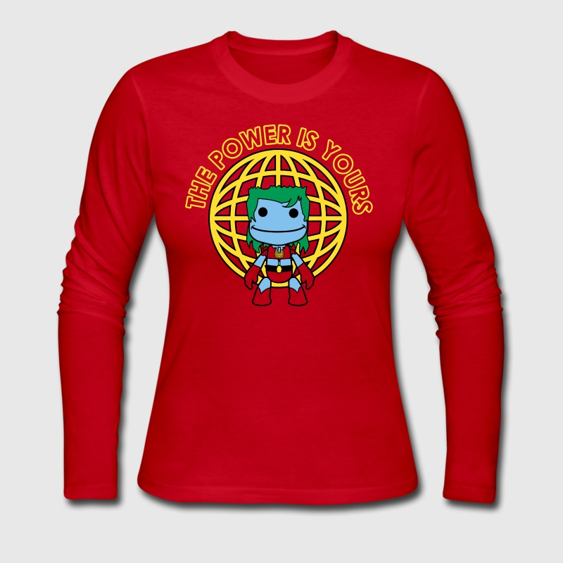 Little Captain Big Planet - Women's Long Sleeve Jersey T-Shirt