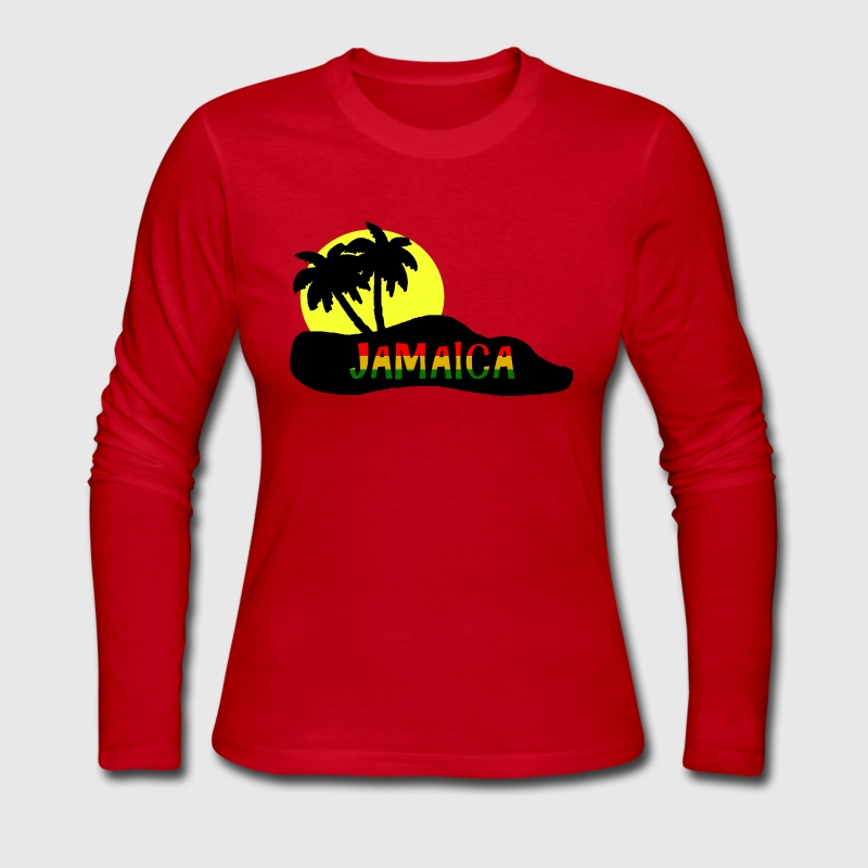 jamaica - Women's Long Sleeve Jersey T-Shirt