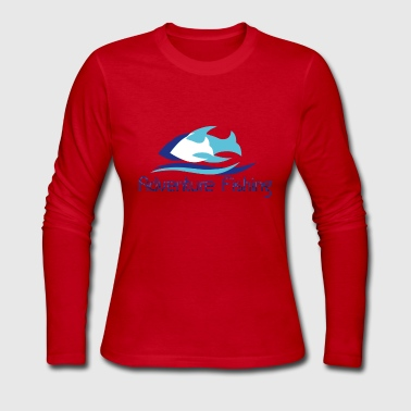 adventure fishing - Women's Long Sleeve Jersey T-Shirt
