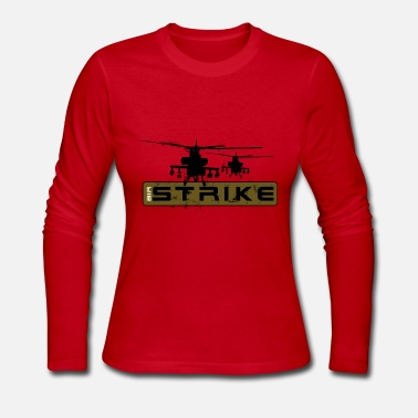 Strike Air strike helicopters - Women's Long Sleeve Jersey T-Shirt
