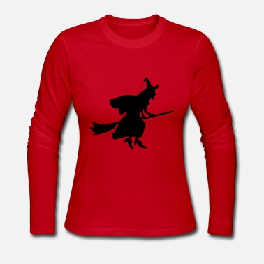 Witch Witch - Women's Long Sleeve Jersey T-Shirt