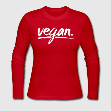 vegan - simply vegan ! - Women's Long Sleeve Jersey T-Shirt