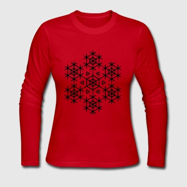 SNOWFLAKE - Women's Long Sleeve Jersey T-Shirt