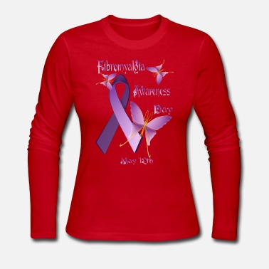Fibromyalgia Awareness Day - T-shirt manches longues en jersey Femme