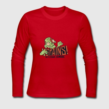 Dashons Joke Zombie T-Shirt - Women's Long Sleeve Jersey T-Shirt