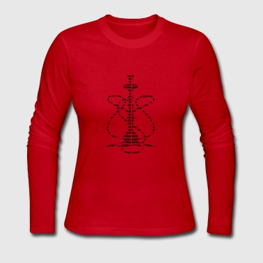 Hookah Hookah - Women's Long Sleeve Jersey T-Shirt