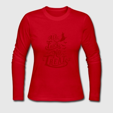 Trick or Treat - Women's Long Sleeve Jersey T-Shirt