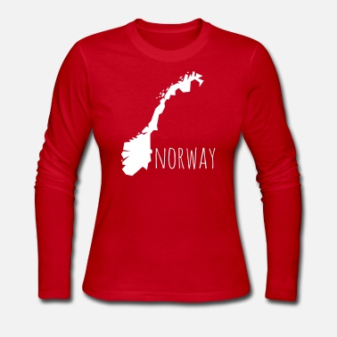 Norway norway - Women's Long Sleeve Jersey T-Shirt