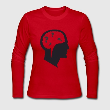 Confused Confusion - Women's Long Sleeve Jersey T-Shirt