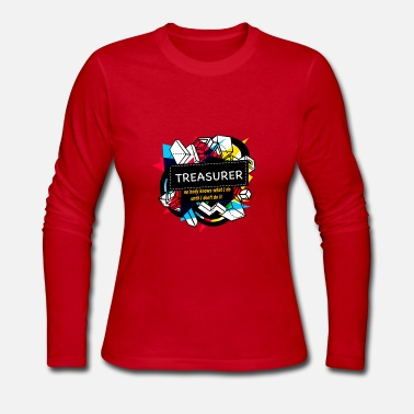 Treasure TREASURER - Women's Long Sleeve Jersey T-Shirt