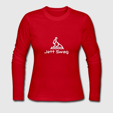 Jett Swag Jet Ski - Women's Long Sleeve Jersey T-Shirt